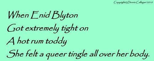 Enid Blyton clerihew